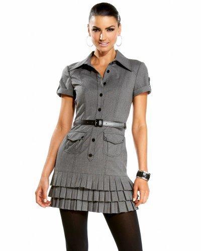 Stretch Cross Stitch Short Sleeve Dress