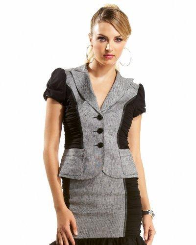 Italian Birdseye Linen Jacket