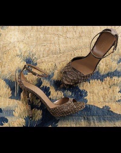 Roma High Heel Ankle Strap Platform Sandals