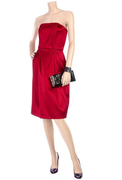 Satin Bustier Dress by Philosophy Di Alberta Ferretti