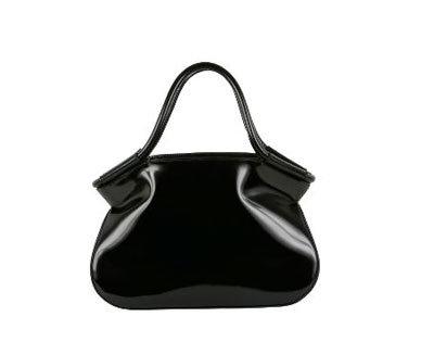 Totem Bag in Black Textured Leather