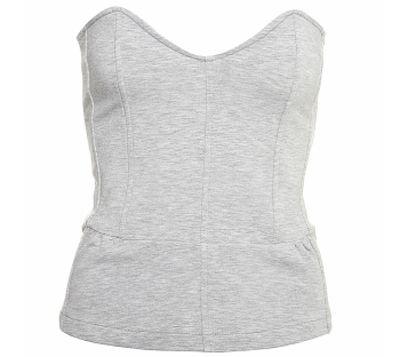 Sweat Zip Back Corset - Original Corset Sun Top