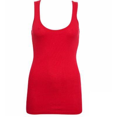 Premium Basic Style: Ribbed Scoop Neck Vest