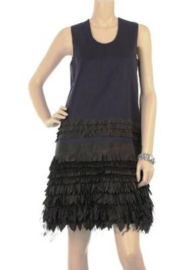 Bamford Silk Embellished Tank Dress