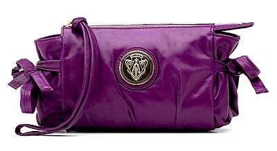 Gucci Hysteria Purple Clutch