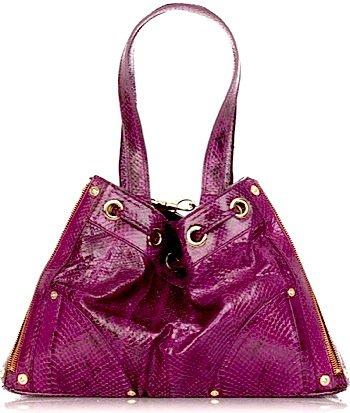Mulberry Snakeskin Oversized Shoulder Bag