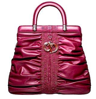 "Dior Large Ruby ""Dior Karenina"" Bag"