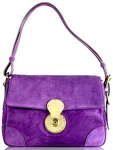 Ralph Lauren Madison Soft Shoulder Bag