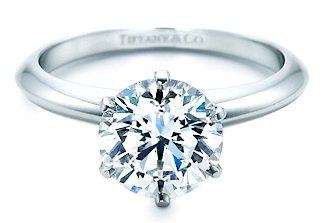 Round Cut Diamond in the Tiffany Setting
