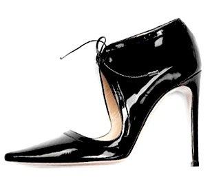 Alessandro Dell'Acqua Patent Leather Stiletto