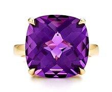 Tiffany Amethyst Ring