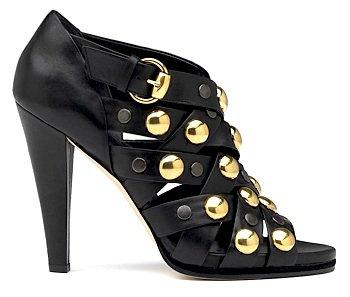 """Gucci """"Babushka"""" Cutout Sandal"""