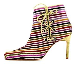 Manolo Blahnik Ponyhair Ankle Boot