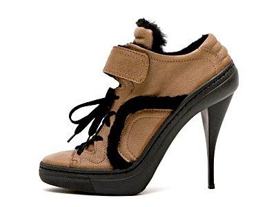 Pierre Hardy Leather Running Shoe
