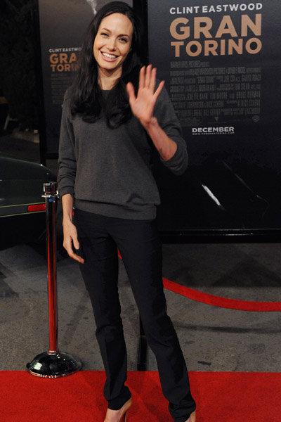 Angelina Jolie at the Gran Torino Premiere: