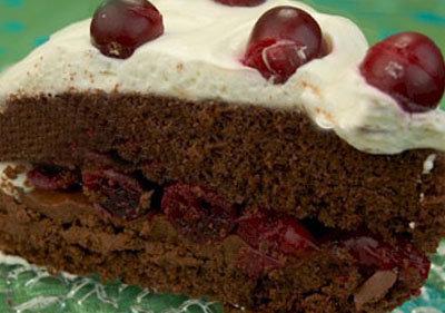 Cranberry Christmas Cake:
