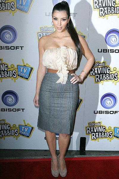 Kim Kardishian at the Ubisoft TV Party: