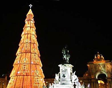 Christmas Tree in Lisbon, Portugal