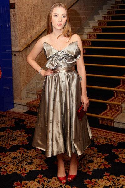 Scarlet Johansson at the Norwegian Nobel Committee Banquet: