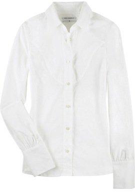 A Man's Classic White Shirt