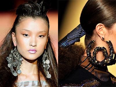 The Bold Earrings ...