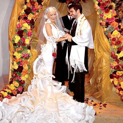 Christina Aguilera and Jordan Bratman ...