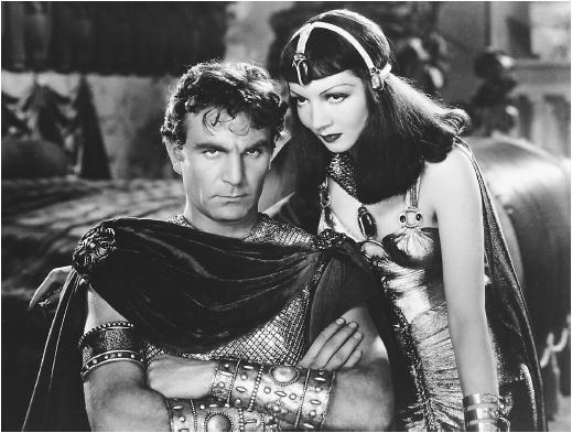 Cleopatra and Mark Antony ...