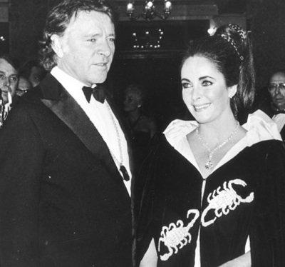 Richard Burton and Elizabeth Taylor ...