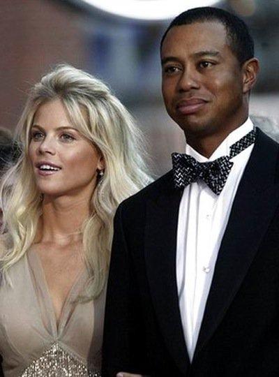 Tiger Woods and Elin Nordegren ...