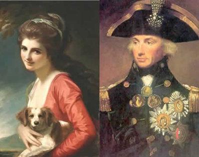 Lord Nelson and Lady Emma Hamilton ...