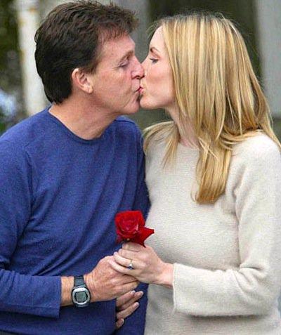 Paul McCartney and Heather Mills ...