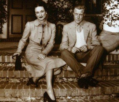 Prince Edward and Wallis Simpson ...