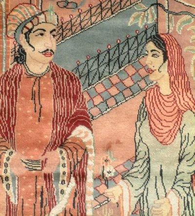 Prince Saleem and Anarkali ...