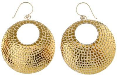 Open Disc Earrings by Anna Beck ...