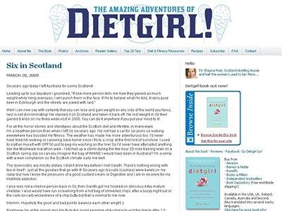 the AMAZING ADVENTURES of DIET GIRL
