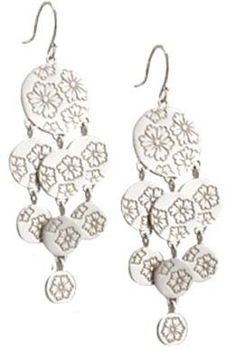 Silver Geisha Earrings by Me&Ro ...