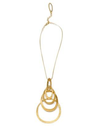 Hervé Van Der Straeten - Necklace with Pendant Ellipses ...