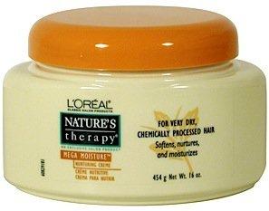 L'Oreal Nature's Therapy Mega Moisture Hair Treatment ...