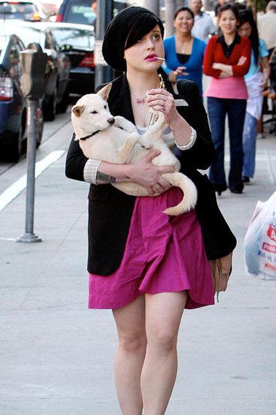 Kelly Osbourne and Shibu Ina ...