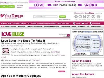 Tango dating site