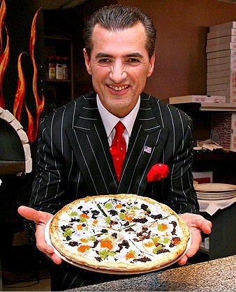 The Luxury Pizza ...