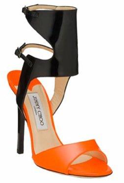 Jimmy Choo Loop Neon Patent Leather Sandal ...