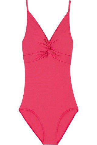 Calvin Klein Twist Front Swimsuit ...