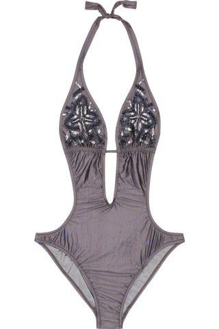 Melissa Odabash Monaco Cutout Swimsuit ...