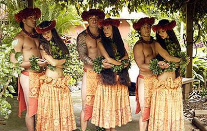 The Six Islands of Hawaii...