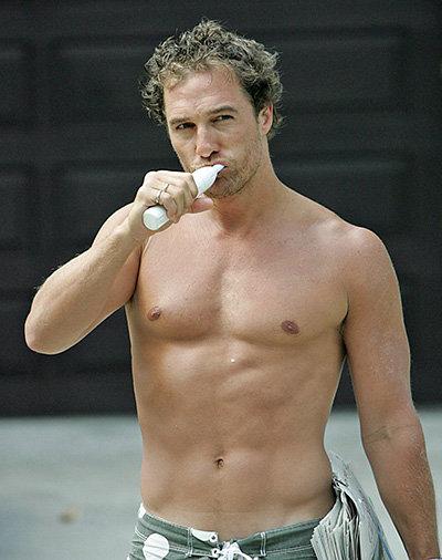 Matthew McConaughy ...