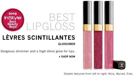 Chanel Levres Scintillantes Glossimer ...