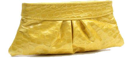 Eve Embossed Patent Leather Clutch by Lauren Merkin ...