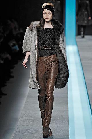 Fendi Long Fur Coat