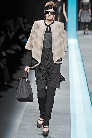 Fendi Short Fur Coat